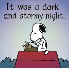 SnoopyDarkAndStormyNight